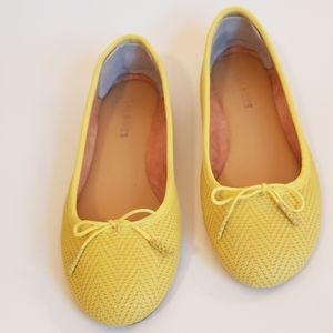 Talbots Penelope Bow Front Ballet Flats, Size 6.5M